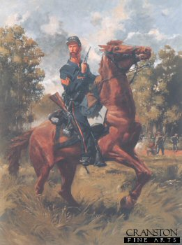 2nd US Cavalry 1862 by Jim Lancia.