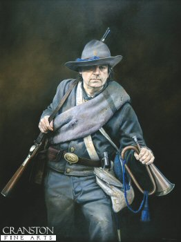 Confederate Bugler by Chris Collingwood.