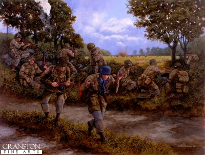 Hells Corner, 7th June 1944 by David Pentland.