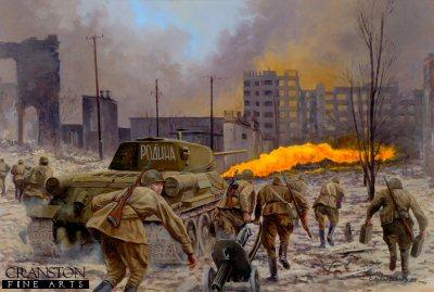 Motherland, The Battle of Stalingrad, September 1942 by David Pentland.