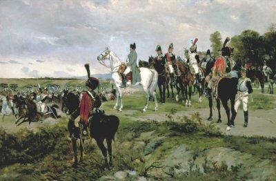 Napoleon Watching the Battle of Friedland by James Alexander Walker (GL)