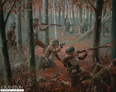 The Courageous Twelve (Meuse Argonne Offensive, 26th September 1918) by Mark Churms
