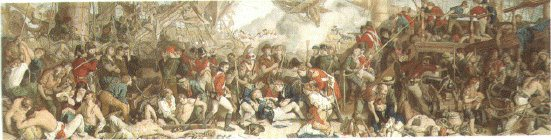 The Death of Nelson at the Battle of Trafalgar by Daniel Maclise.