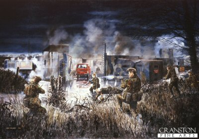 1st Battalion Kings Owns Scottish Borderers. The Derryard Action, Co Fermanagh, December 13th 1989 by David Rowlands (GL)