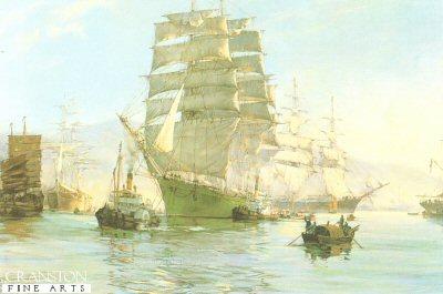 The Thermopylae Leaving Foochow by Montague Dawson.