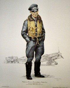 Hauptmann Hermann-Friedrich Joppien, Knights Cross.  by Richard Hook.