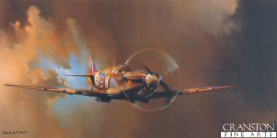Spitfire by Barrie Clark.