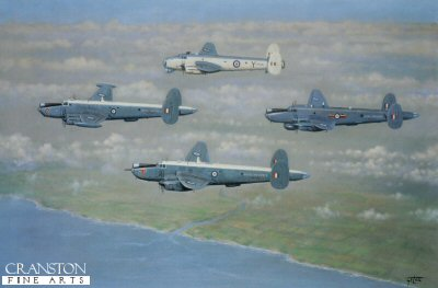 DHM923.  Shackletons by Geoff Lea. <b><p>Open edition print. <p> Image size 22 inches x 14 inches (56cm x 36cm)