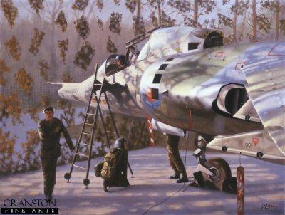 Harrier in a Hyde by Geoff Lea.