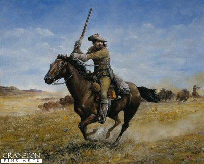 William F Cody (Buffalo Bill) by Brian Palmer.