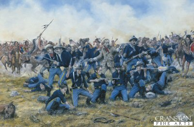 Battle of the Little Big Horn (General Custer) by Brian Palmer.