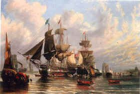 Troops Embarking for the Crimea by William Stuart (GS)