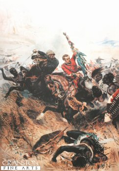 Saving the Queens Colours at the Battle of Isandhlwana by Alphonse de Neuville
