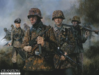 SS Panzer Grenadiers by Chris Collingwood. (B)