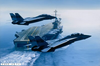 USS Ranger by Ivan Berryman.