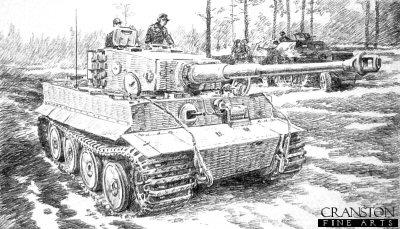 Kampfgruppe Carius by David Pentland.