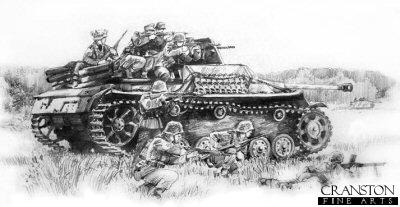Containing the Baranow Bridgehead, Ukraine, 1st-2nd August 1944 by David Pentland.