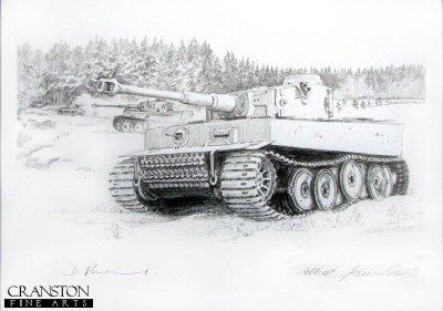 Captain Hans Bölter - Struggle in the Snow by David Pentland. (P)