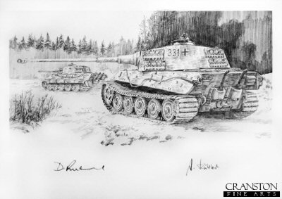 Feldwebel Heinz Gartner - Where is Hill 128 by David Pentland. (P)
