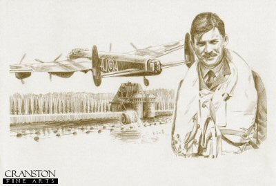 Tribute to the 617 Sqn Dambusters Crew of Lancaster AJ-A by David Pentland.