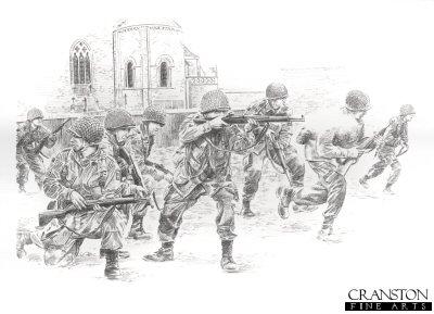 Struggle for Sainte Mere Eglise by David Pentland.