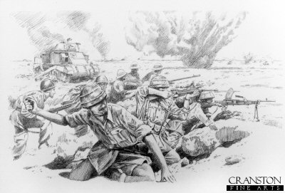Folgore at El Alamein by David Pentland. (P)