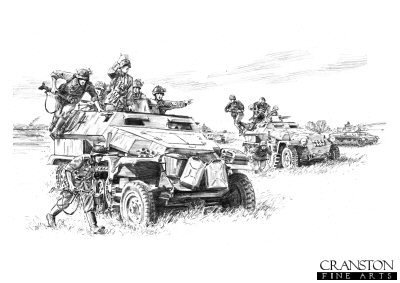 Panzer Grenadiers by David Pentland.
