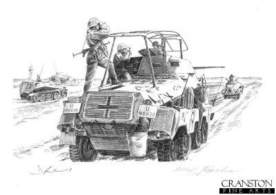 Armoured Reconnaissance by David Pentland. (P)