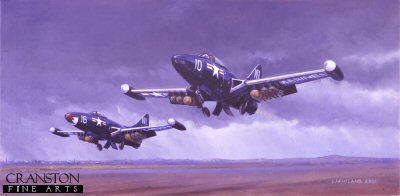 Panther Pack, Korea, March 1953 by David Pentland.