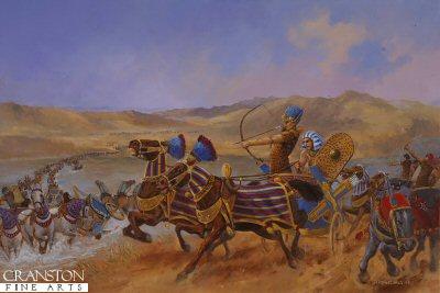 Kadesh (Egyptians v Hittites) by David Pentland. (GL)