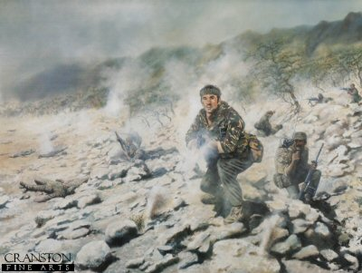 Lance Corporal Mel Townsend by David Rowlands. (GS)