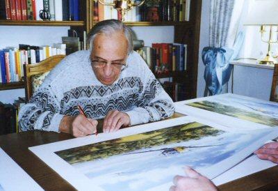 Erich Rudorffer Aviation Art Signatures Erich Rudorffer