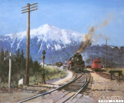 Steam in the Rockies by Terence Cuneo