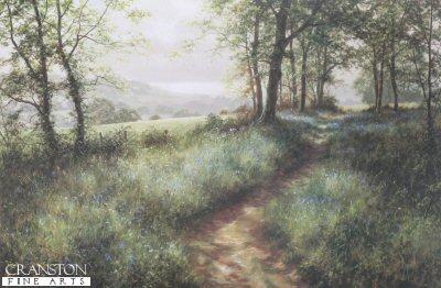 Springtime in Devon by David Dipnall.