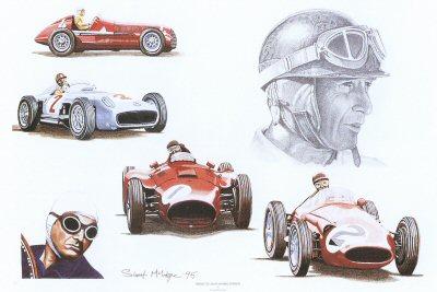 Tribute to Juan Manuel Fangio by Stuart McIntyre