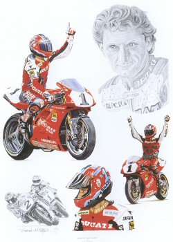 Tribute to Carl Fogarty by Stuart McIntyre.