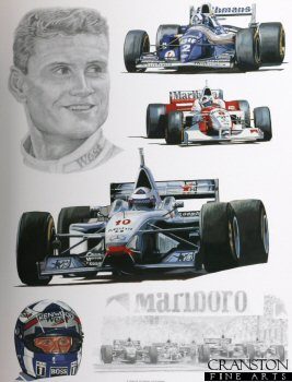 Tribute to David Coulthard by Stuart McIntyre