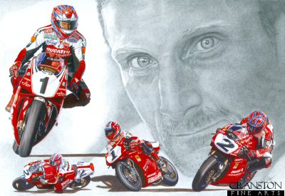 Sporting Legends - Carl Fogarty by Stuart McIntyre.