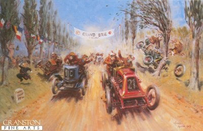 The Grand Brie by Terence Cuneo.