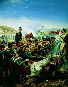 Battle of Somah by Horace Vernet. (GS)