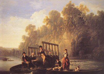 The Fishing Match by Joseph Farrington