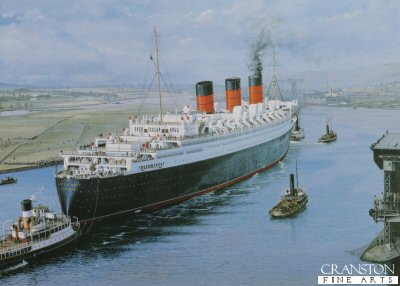RMS Queen Mary - The Legend Begins by Gordon Bauwens.