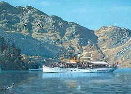 SS Sir Walter Scott by Gordon Bauwens.