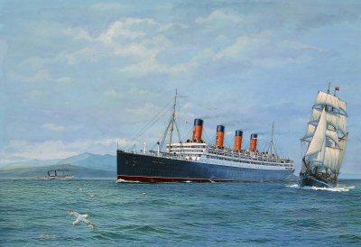 Aquitania - The Ship Beautiful by Gordon Bauwens.