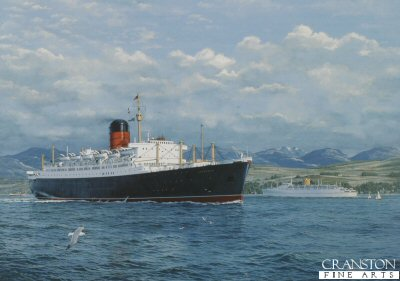 River Portraits, the Liner Sylvania by Gordon Bauwens.