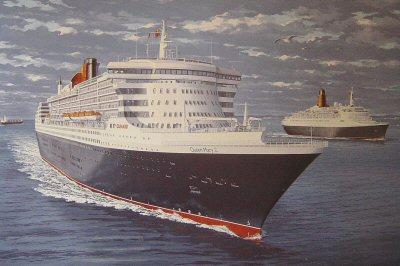 Majesty at Sea by Gordon Bauwens.