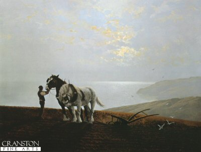 The Ploughman and the Sea by Gerald Coulson.