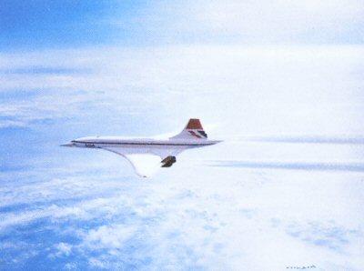 British Aerospace Concorde by Gerald Coulson.