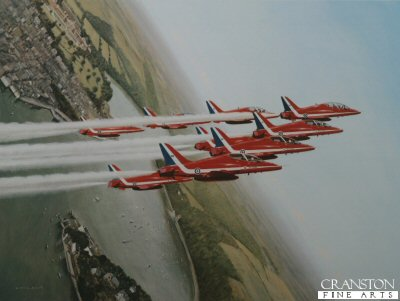 The Red Arrows by Gerald Coulson (B)