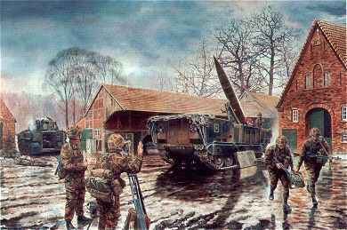 Lance Missile Launcher, 50th Missile Regiment Royal Artillery by David Rowlands. (GS)